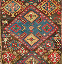 EARLY RARE CAUCASIAN KARABAGH RUG
