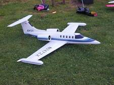 "1/5.5 Scale LEARJET 35A scratch build R/c Plane Plans & Instr, 84"" WS DUCTED FAN"