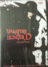Vampire Hunter D (Both Special Edition & Blood Lust!)   2 Movies!  English Audio