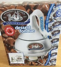 Hershey's Kisses 100 Anniversary Limited Edition Dessert Fondue Set New 2007