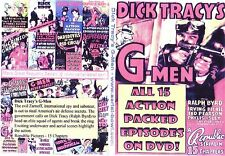 dick tracy s g-men Cliffhanger Chapter Serial