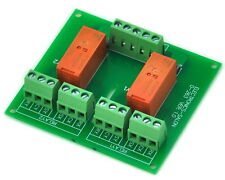 Passive Bistable/Latching 2 DPDT 8 Amp Power Relay Module, 12V Version, RT424F12