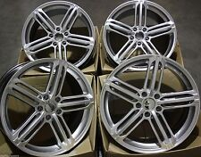 "20"" B 6 SIL ALLOY WHEELS FITS AUDI A6 2005 ONWARDS"