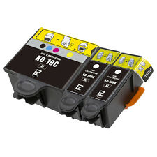3 Pack 10 XL Ink Cartridges For Kodak ESP 5210 7250 3250 5250 9 5 7 9250 Printer