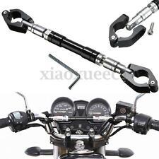 Universal Adjustable CNC Motorcycle Handlebar Cross Bar For Honda Kawasaki USA