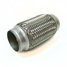"2"" x 6"" Exhaust Flexi Pipe Flex Joint 150mm X 50mm Flexipipe Tube Cat Repair"