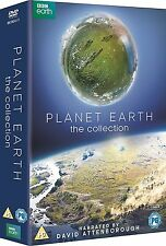 Planet Earth I II Collection . David Attenborough . Planet Erde 1 2 . 7 DVD NEU