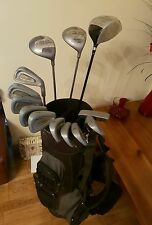 SUPERB SET OF PETER ALLISS TOUR SERIES  GOLF CLUBS, RIGHT HANDED