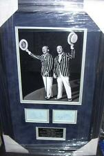 BING CROSBY and BOB HOPE Signed Montage AFTAL