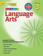 Spectrum Ser.: Language Arts, Grade 3 by Spectrum Staff and Carson-Dellosa Publi
