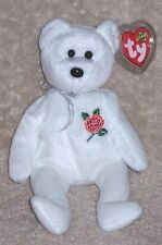 ROSE BEAR UK EXCLUSIVE Ty Beanie Baby MINT WITH MINT TAGS