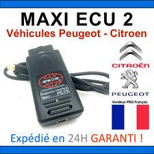 MaxiECU 2 + MPM-COM Valise Diagnostic PEUGEOT et CITROEN - DIAG PP BOX OBD2