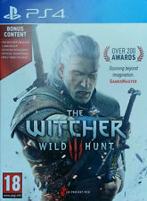 The Witcher 3: Wild Hunt Bonus Content Edition PS4 Sony PlayStation 4
