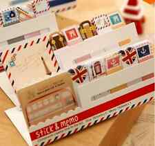Stationary Mini Memo Notepad,note Book & memo Pad, sticky Notes Book Mark AA87Y