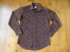 Rare Paul Smith brown long sleeve shirt size 15.5""