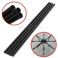 3K Roll Wrapped 10mm Carbon Fiber Tube 8mm x 10mm x 500mm Glossy for RC Quad