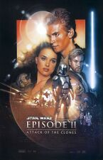"Star Wars movie poster - Attack Of The Clones poster 11"" x 17""  Star Wars poster"