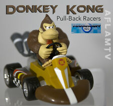 Donkey Kong - Super Mario Pull-Back Racers Kart car Goldie wii - Used