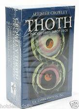 POCKET SWISS ALEISTER CROWLEY THOTH TAROT DECK FRIEDA HARRIS DIVINATION CARDS