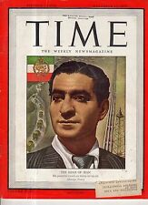 1945 Time December 17-Shah of Iran;Kurds and Armenians have oil;Canada Sterilize