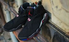 Nike Air Jordan Retro 8 VIII BRAND NEW DS black PLAYOFFS 305381-061 Size 12