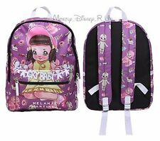 New Melanie Martinez Cry Baby Papercut Logo School Backpack Book Bag Day Pack