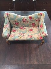 """The Tender Art Collection Sofa - for 18"""" dolls great condition"""
