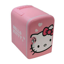 Vivitar Retro 6-Can Portable Mini Fridge - Cooler/Warmer - AC/DC - Hello Kitty
