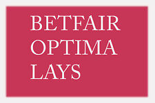 Betfair Optima Lays Racing Betting System - Make Money!