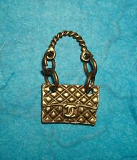 Pendant Purse Charm Bronze Fashion Charm CHIC Purse Shoulder Bag Designer Purse