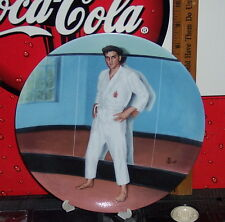 """ELVIS PRESLEY LOOKING AT A LEGEND """"GOING FOR THE BLACK BELT COLLECTOR'S PLATE"""