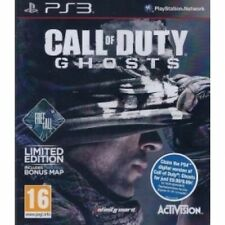 Call Of Duty Ghosts Game With Free Fall DLC PS3 Brand New