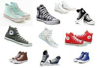 All Star Converse Chucks Hi Leinen Damen Herren Sneaker