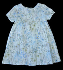 NEXT GIRLS BLUE FLORAL OCCASIONAL DRESS SUMMER AGE 3-4 YEARS EUR 104CM SUMMER