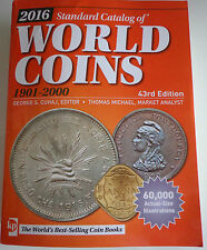 Standard Catalog of World Coins 1901-2000 englisch 43th Edition ~ AUGABE 2016 ~