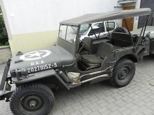 Willy's Jeep MB Jeepverdeck Ford GPW, Sommerverdeck Tropico, in khaki oder sand