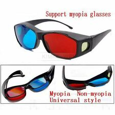 10x Red Blue 3D NVIDIA VISION Myopia/General Glasses Cyan Movie DVD Dimensional