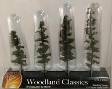 "Woodland Scenics Trees Standing Timber- Fir Pine 4""-6""  N HO O Scale TR 3561 New"
