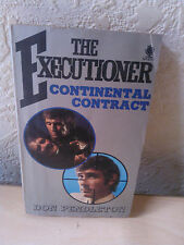 Vintage 1973, The Executioner Continental Contract, Don Pendleton, Sphere Book