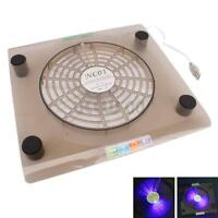 "14""-15.4"" Laptop PC Notebook USB Cooling 1 Big Fan LED Cooler Stand Pad"