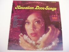 POLYNESIANS - HAWAIIAN LOVE SONGS - RARE - CROWN LP