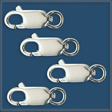 10  Sterling Silver 925  LOBSTER CLAW 13.5 mm CLASPS