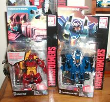 transformers combiner wars legend class RODIMUS & THUNDERCRACKER FIGURES NEW