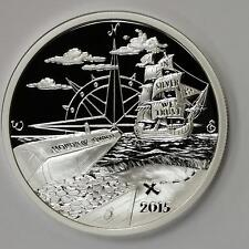 2015 Finding Silverbug Island 1 oz .999 Silver Proof Round USA Made Bullion Coin