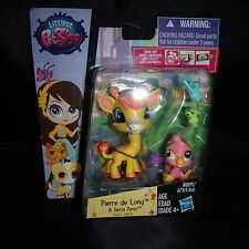 Littlest Pet Shop NEW Deco accessories Giraffe Pierre De Long #3812 Siesta 3813