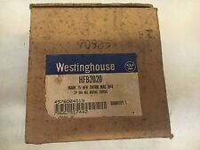 WESTINGHOUSE HFB2020 NEW IN BOX 2P 20A 600V BREAKER SEE PICS #A49