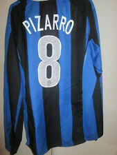 Inter Milan 2004-2005 Pizarro 8 Home Football Shirt Size Large /3555