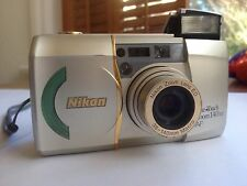 Nikon Lite Touch Zoom 140 ED 35mm Camera Macro Lens Compact