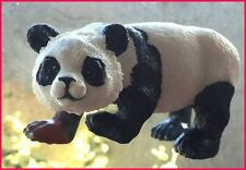 Window Magnet GIANT PANDA BEAR fly-thru glass effect, hand painted GIFT idea