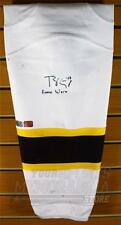 Torey Krug Boston Bruins Signed Autographed White Inscribed Game Worn Sock